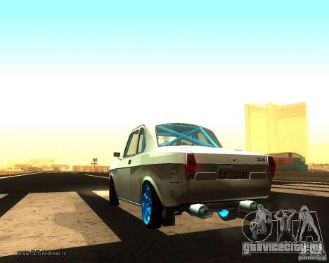 Газ Волга 2410 Drift Edition для GTA San Andreas вид сзади слева