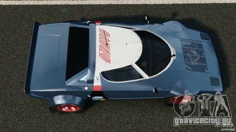 Lancia Stratos v1.1 для GTA 4 вид справа