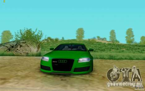 Audi RS6 OTIS для GTA San Andreas вид справа