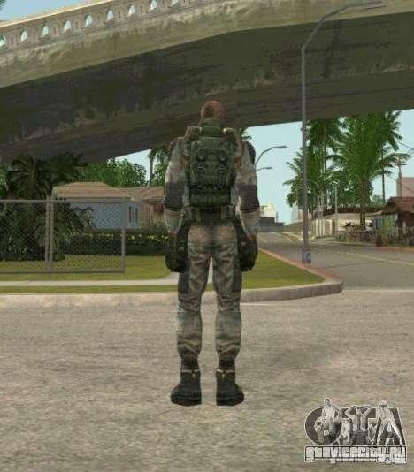 Лебедев из S.T.A.L.K.E.R. Чистое Небо для GTA San Andreas третий скриншот