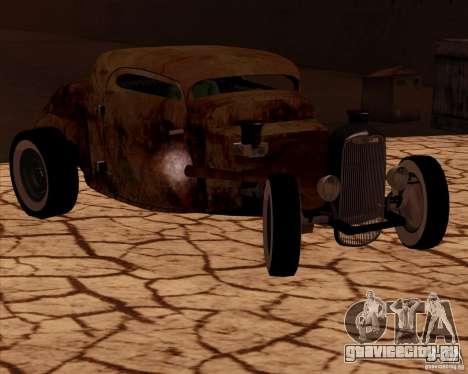 Ford Rat Rod для GTA San Andreas вид сзади слева