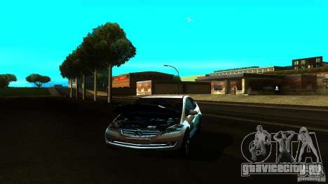 Mercedes-Benz A200 Turbo для GTA San Andreas вид сзади