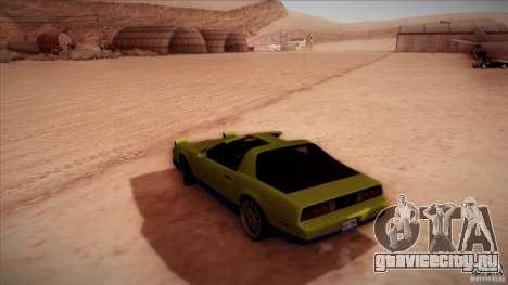 Pontiac Firebird Trans Am для GTA San Andreas вид слева
