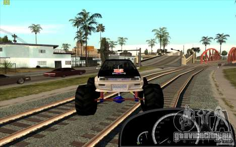 Jetta Monster Truck для GTA San Andreas вид справа