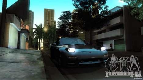 Mazda RX-7 FD 1991 для GTA San Andreas вид сзади