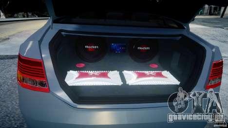 Audi A6 TDI 3.0 для GTA 4 вид изнутри