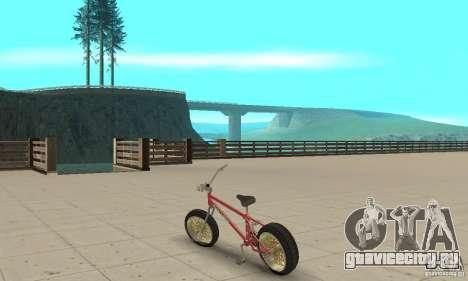 BMX Long 2 для GTA San Andreas вид сзади слева