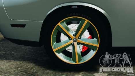 Dodge Challenger SRT8 2009 [EPM] для GTA 4 салон