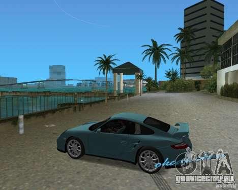 Porsche 911 GT2 для GTA Vice City вид справа