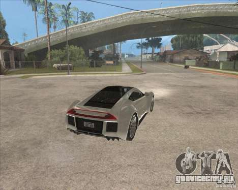 Saleen S5S Raptor для GTA San Andreas вид справа
