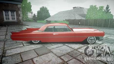 Cadillac De Ville v2 для GTA 4 вид изнутри