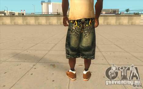 The BIG Makaveli Short Jeans для GTA San Andreas третий скриншот