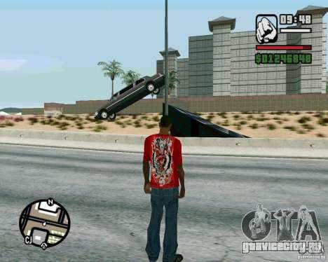 Трамплины на шоссе в Лас Вентурасе для GTA San Andreas второй скриншот