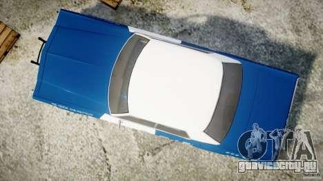 Dodge Monaco 1974 (bluesmobile) для GTA 4 вид справа