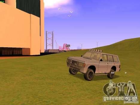 Huntley Superior для GTA San Andreas колёса