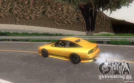 Nissan 180sx v2 для GTA San Andreas вид сбоку