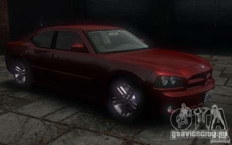 Dodge Charger RT Hemi 2008 для GTA 4 вид сбоку