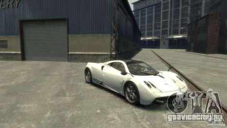 Pagani Huayra для GTA 4 вид сзади слева
