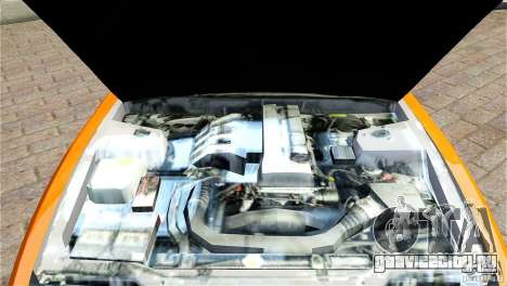 Nissan Sil1480 Drift Spec для GTA 4 вид изнутри