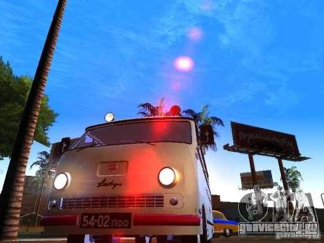 РАФ-977ИМ Скорая для GTA San Andreas вид сзади