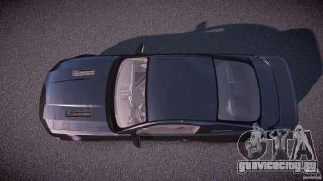 Saleen S281 Extreme Unmarked Police Car - v1.1 для GTA 4 вид справа