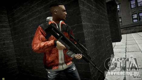 Accuracy International AS50 для GTA 4