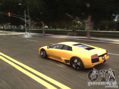 Lamborghini Murcielago LP640 2007 для GTA 4 вид изнутри