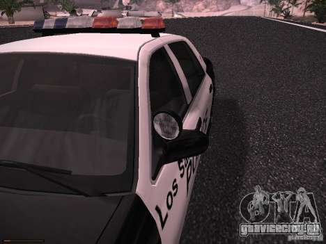 Ford Crown Victoria Police 2003 для GTA San Andreas вид сзади