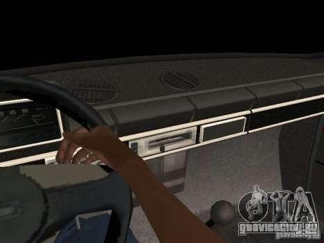 ВАЗ 21011 для GTA San Andreas вид сверху