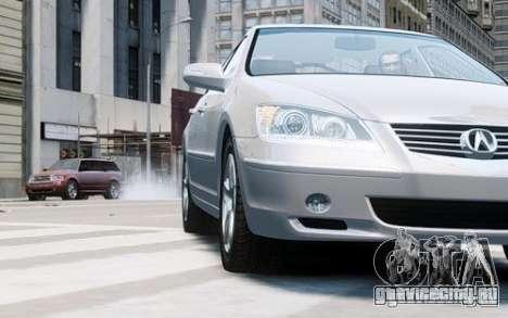Acura RL 2006 для GTA 4