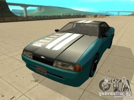 Elegy Forsage для GTA San Andreas вид слева