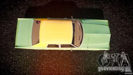 Dodge Monaco 1974 для GTA 4 вид справа