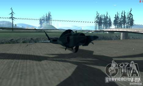 BatWing для GTA San Andreas вид слева