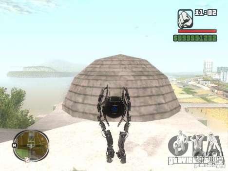 Robot из Portal 2 №2 для GTA San Andreas