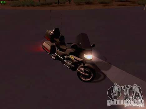Honda Goldwing GL 1500 1990 г. для GTA San Andreas вид справа