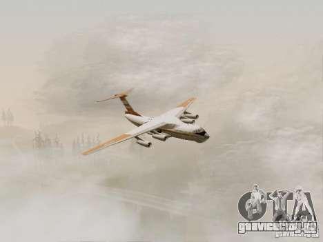 ИЛ-76ТД для GTA San Andreas вид справа