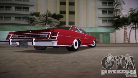 Ford LTD Brougham Coupe для GTA Vice City вид слева