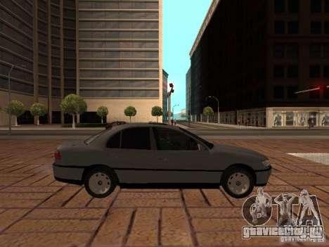 Opel Omega B 1998 v2 для GTA San Andreas вид слева