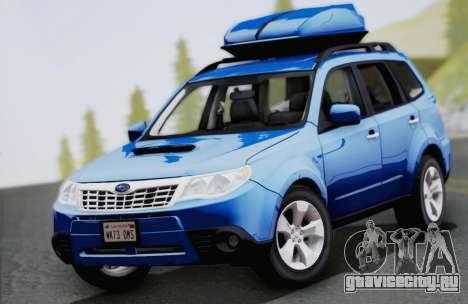 Subaru Forester XT 2008 для GTA San Andreas вид изнутри