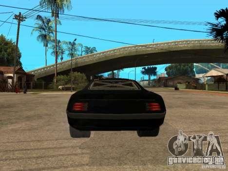 Plymouth Hemi Cuda Rogue Speed для GTA San Andreas вид сзади слева