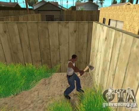 Оружие из call of duty для GTA San Andreas шестой скриншот