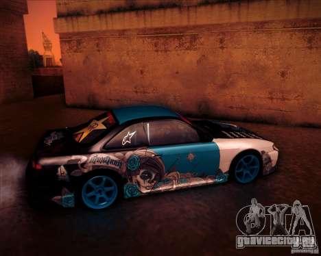 Nissan Silvia S14 NonGrata для GTA San Andreas вид слева
