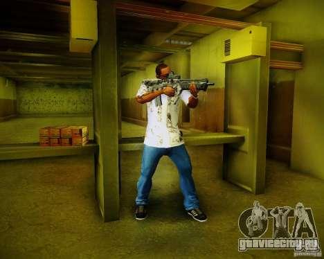 Tavor Tar-21 Digital для GTA San Andreas шестой скриншот