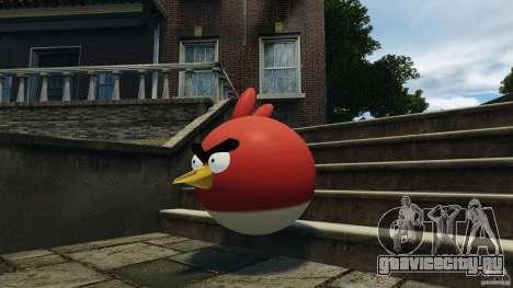 Angry Bird Ped для GTA 4 третий скриншот