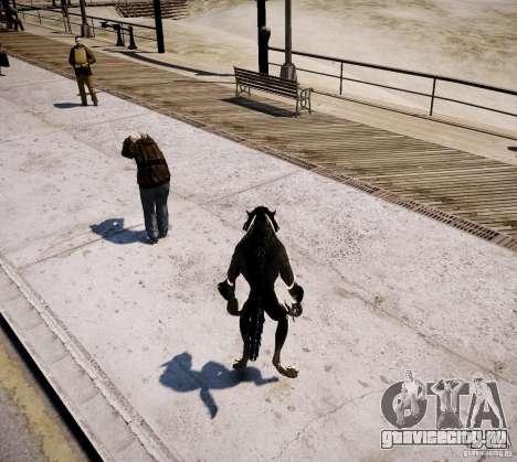 Werewolf from Skyrim для GTA 4 седьмой скриншот