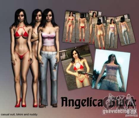 Angelika Black для GTA San Andreas