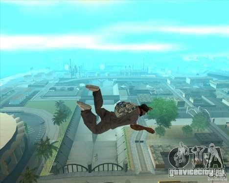 Парашют Rockstar (камуфляж) для GTA San Andreas третий скриншот