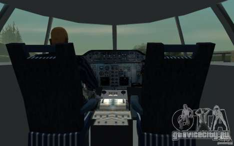 Airbus A310 S7 Airlines для GTA San Andreas вид сбоку