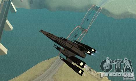 S.S.V. NORMANDY-SR 2 для GTA San Andreas вид сверху