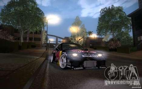 Mazda RX7 Madmikes Redbull для GTA San Andreas вид сбоку